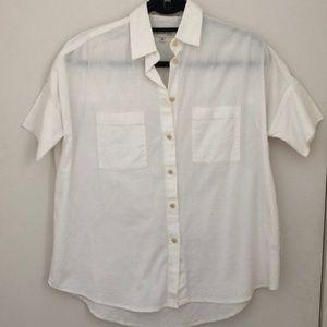 Madewell Oversized Courier Shirt